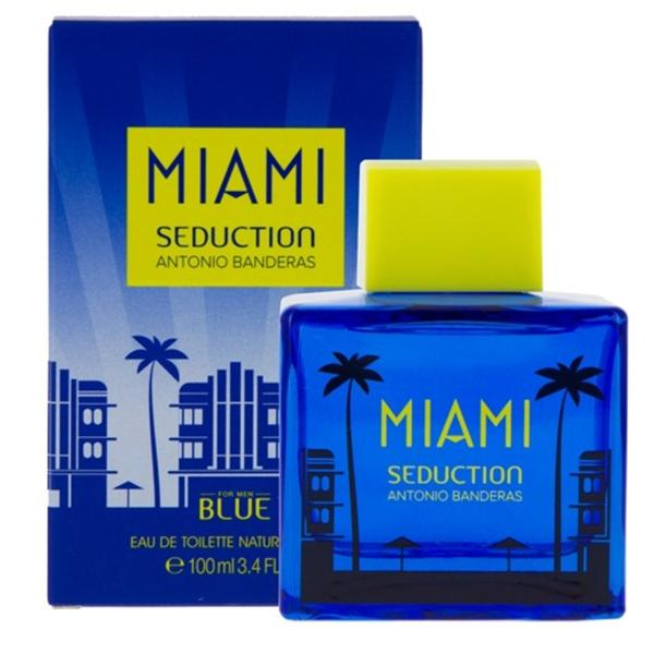 MENS FRAGRANCES - Blue Seduction Miami 3.4 Oz EDTfor Men