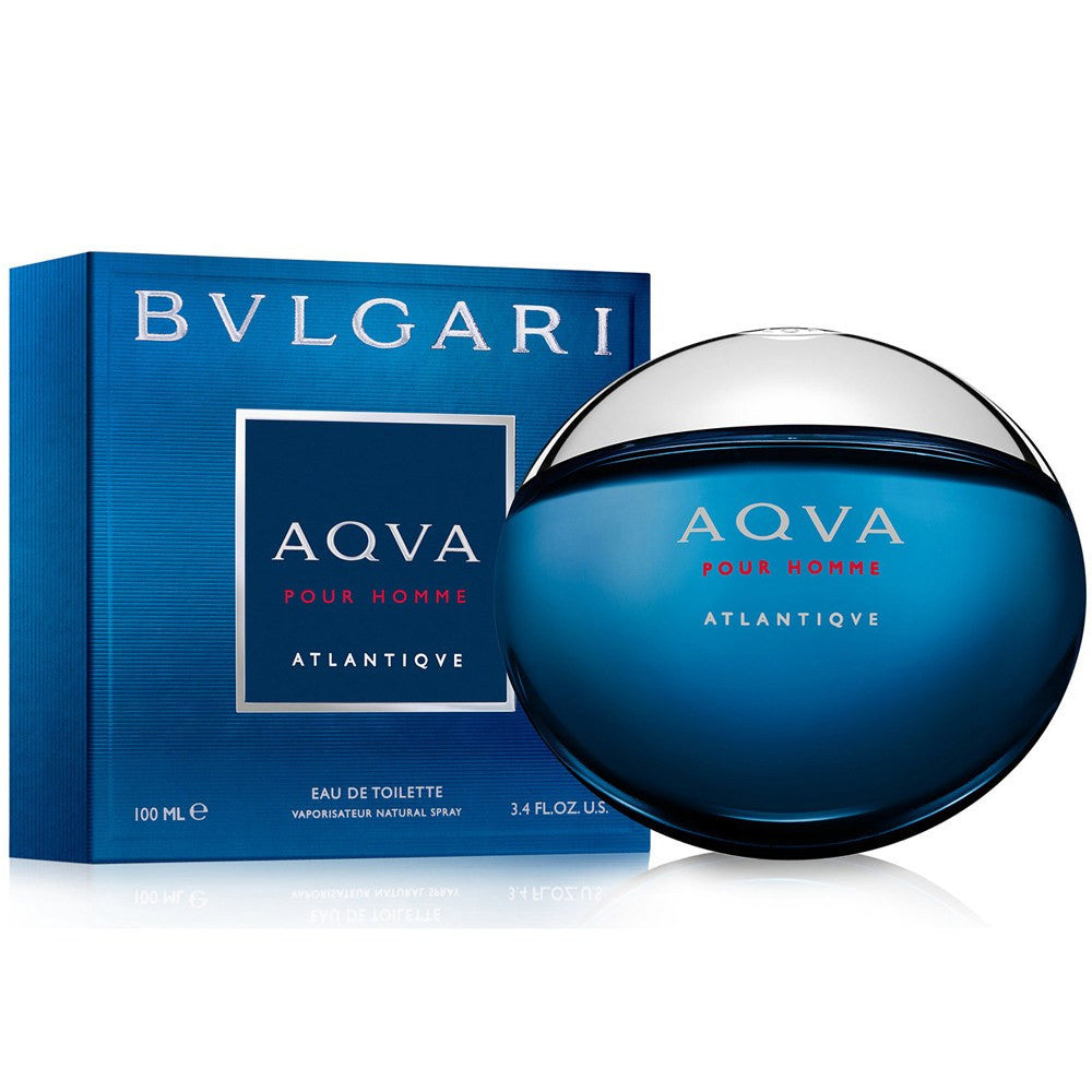 MENS FRAGRANCES - BLVGARI Aqva Atlantiqve 3.4 Oz EDT For Men