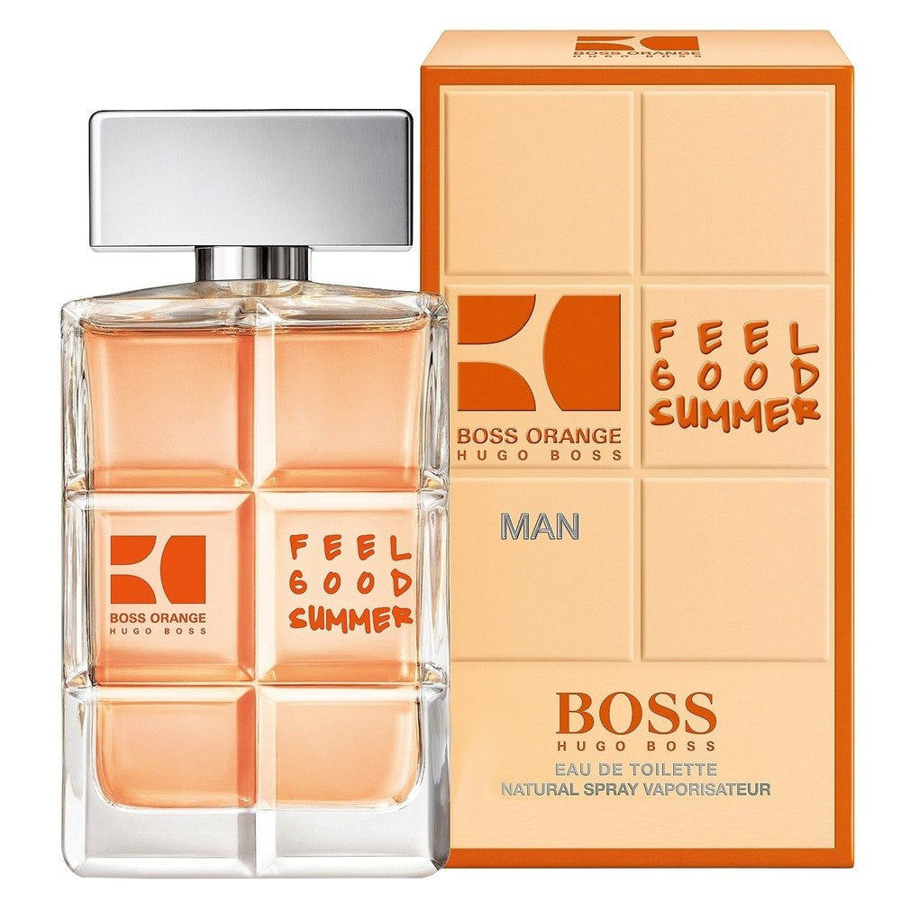 MENS FRAGRANCES - Boss Orange Feel Good Summer 3.4 Oz EDT For Men