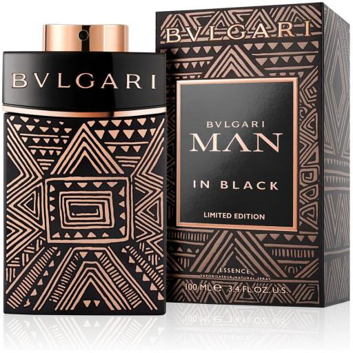 MENS FRAGRANCES - Bulgari Man In Black Essence Limited Edition 3.4 Oz For Men