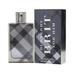 MENS FRAGRANCES - Burberry Brit 3.4 Oz EDT For Men