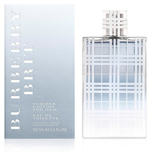 Burberry Brit Summer 3.3 oz EDT for men  BURBERRY MENS FRAGRANCES - LaBellePerfumes