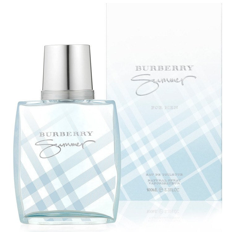 Burrbery Summer 3.4 oz EDT for men  BURBERRY MENS FRAGRANCES - LaBellePerfumes