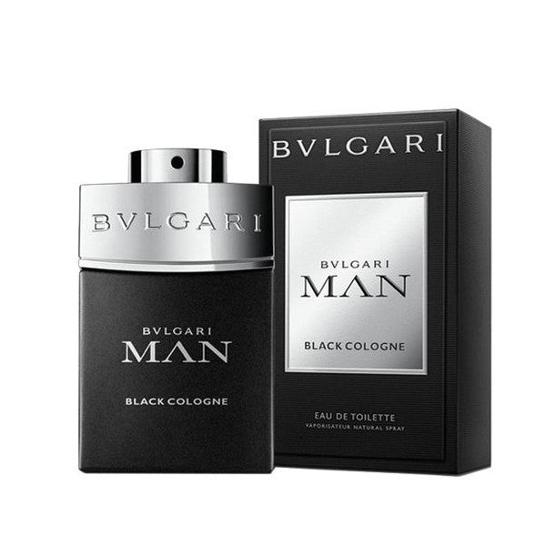 MENS FRAGRANCES - Bvlgari Man Black Cologne 3.4 Oz EDT