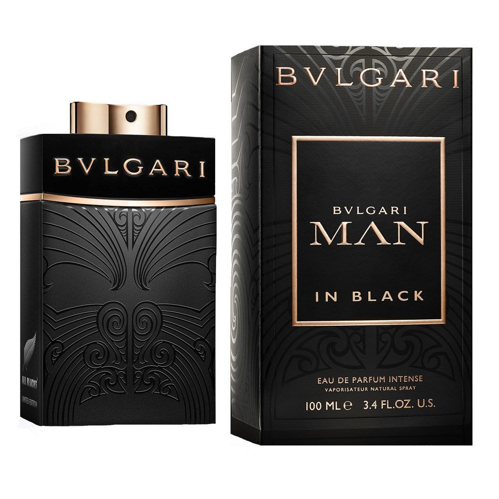Bvlgari Man In Black Parfum Intense 3.4 oz for men  Bulgari MENS FRAGRANCES - LaBellePerfumes