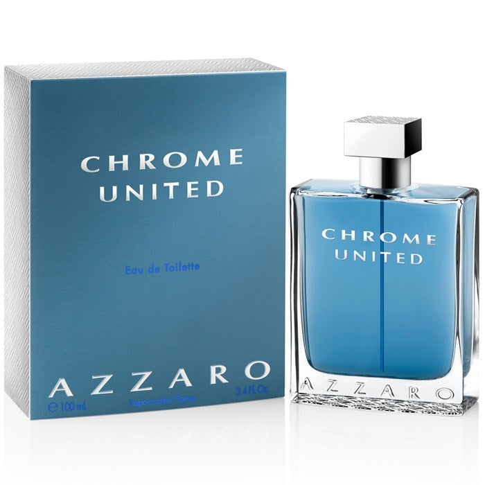 MENS FRAGRANCES - Chrome United 3.4 EDT For Men