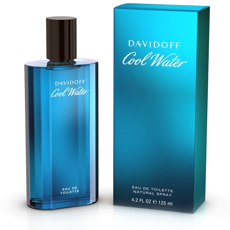 MENS FRAGRANCES - Cool Water 4.2 Oz EDT For Men