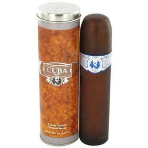 MENS FRAGRANCES - Cuba Blue 3.4 Oz For Men