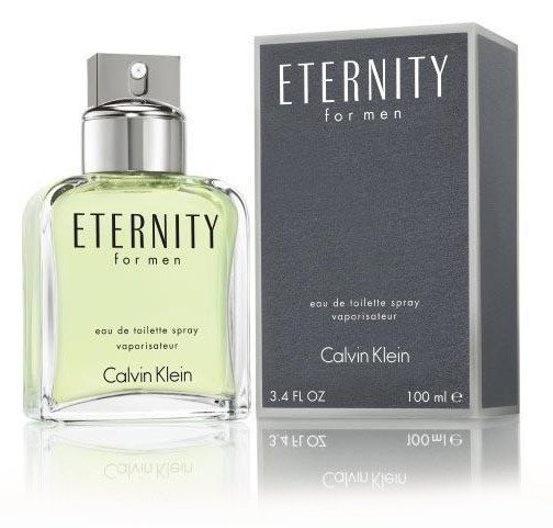 MENS FRAGRANCES - Eternity 3.4 Oz EDT For Men