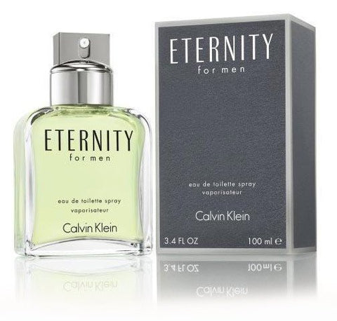 Eternity 3.4 oz EDT for men