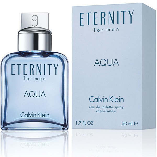 MENS FRAGRANCES - Eternity Aqua 3.4 Oz EDT For Men