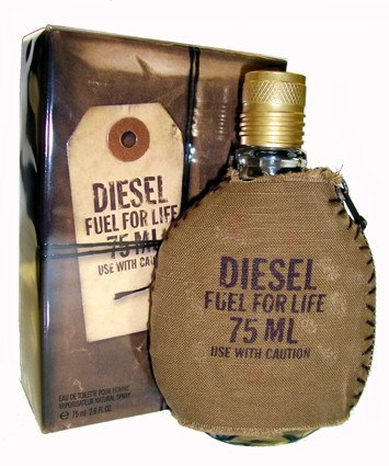 MENS FRAGRANCES - Fuel For Life 2.5 Oz For Men