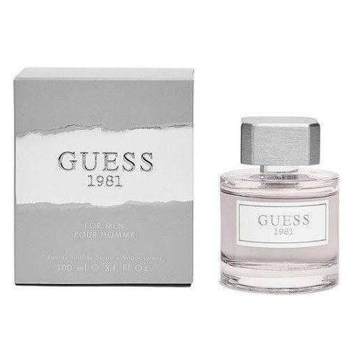 MENS FRAGRANCES - Guess 1981 3.4 EDT For Men