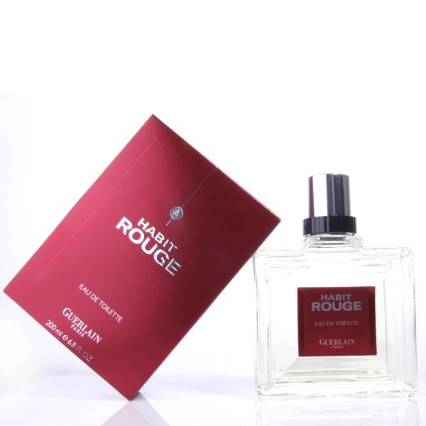 MENS FRAGRANCES - Habit Rouge 3.4 Oz EDT For Men