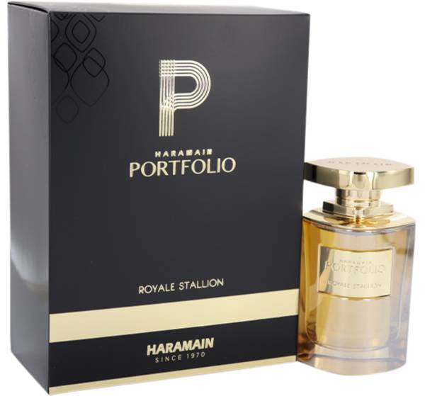 MENS FRAGRANCES - Haramain Portfolio Royale Stallion 2.5 Oz EDP For Men