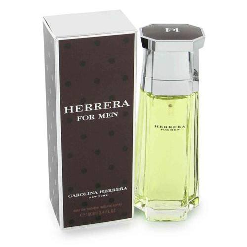 MENS FRAGRANCES - Herrera 3.4 Oz EDT For Men