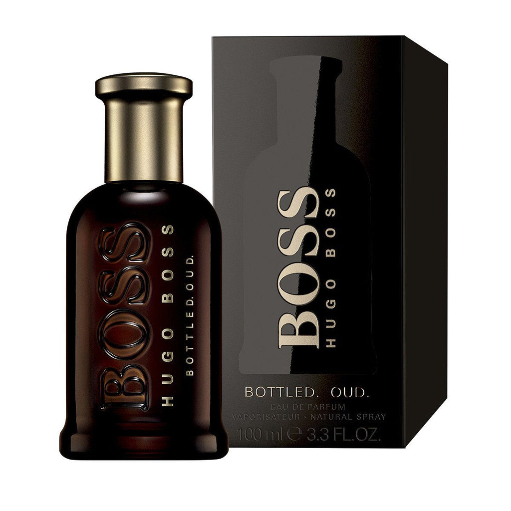 MENS FRAGRANCES - Hugo Boss Bottled Oud 3.4 Oz EDP For Men