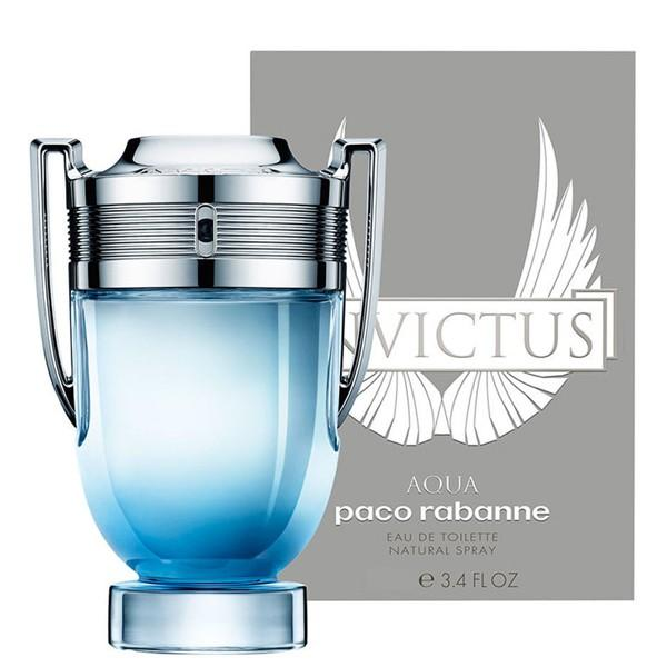 MENS FRAGRANCES - Invictus Aqua 3.4 Oz EDT For Men