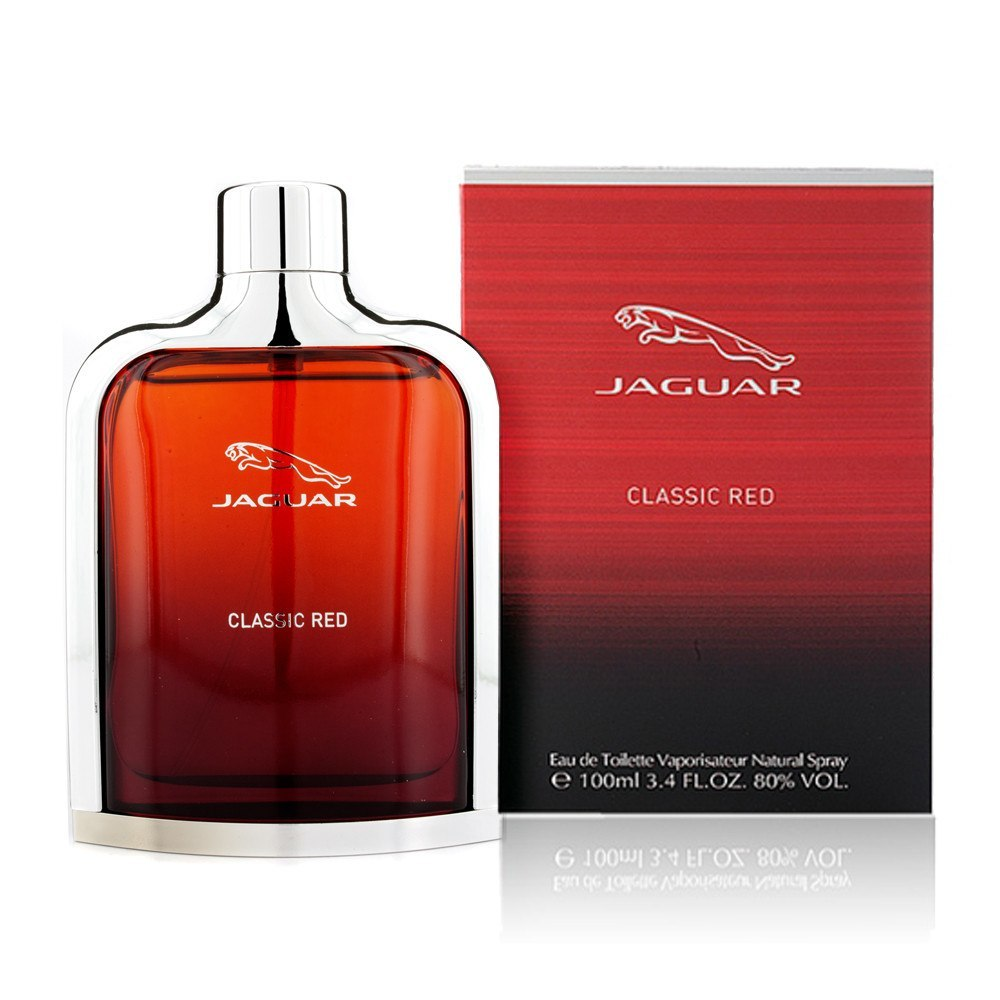 MENS FRAGRANCES - Jaguar Classic Red 3.4 EDT For Men