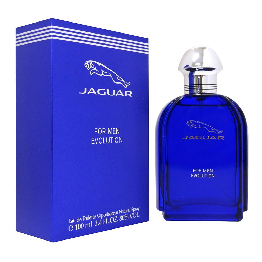 MENS FRAGRANCES - Jaguar Evolution 3.4 Oz EDT For Men