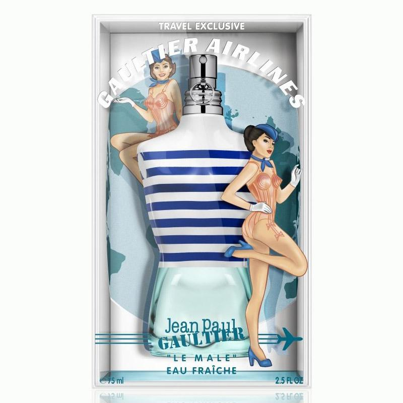 "MENS FRAGRANCES - Jean Paul Gaultier ""Le Male"" Eau Fraiche 2.5 Oz For Men"
