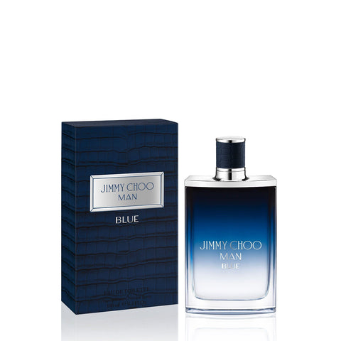 MENS FRAGRANCES - Jimmy Choo Blue 3.4 Oz EDT For Men