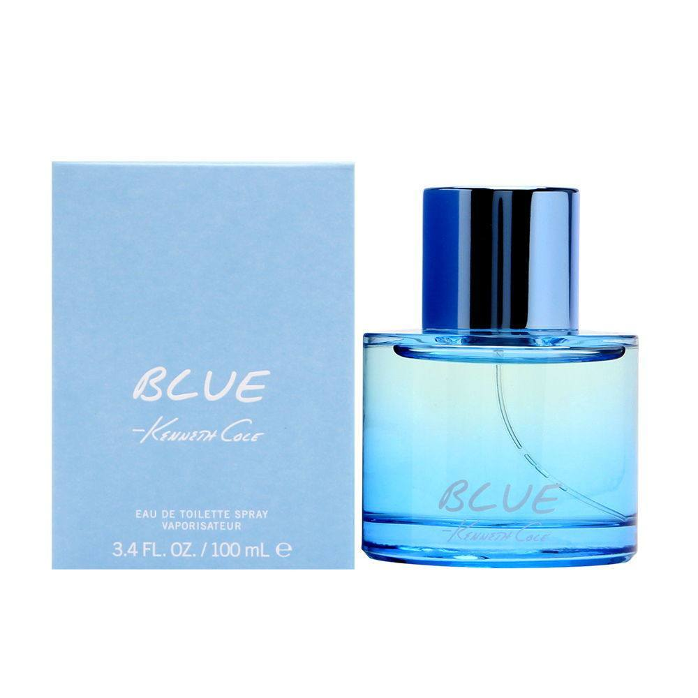 MENS FRAGRANCES - Kenneth Cole Blue 3.4 Oz EDT For Men
