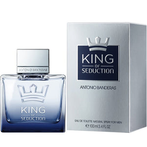 MENS FRAGRANCES - King Of Seduction 3.4 EDT For Men