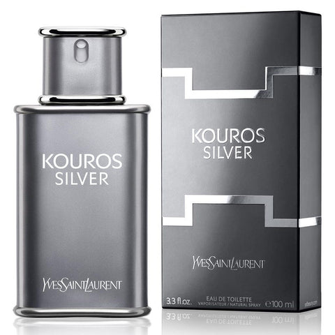 Kouros Silver 3.3 oz EDT for men