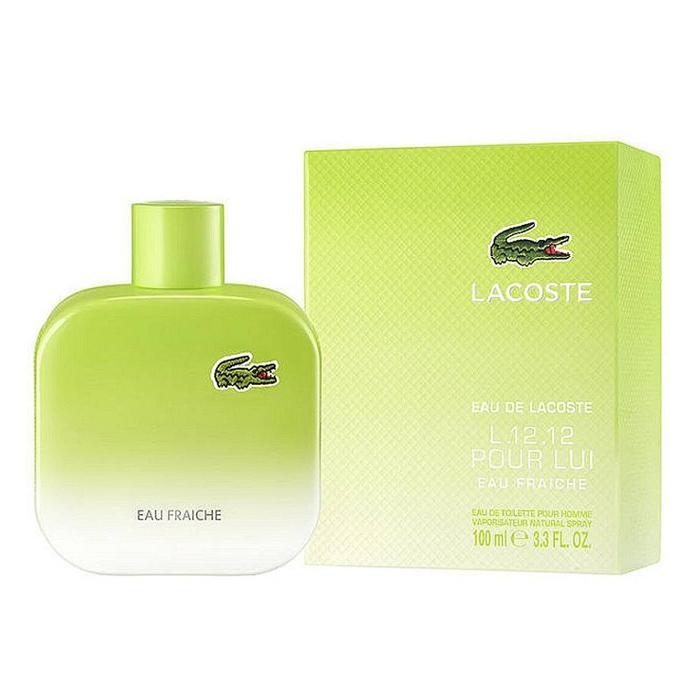 MENS FRAGRANCES - Lacoste L.12.12 Pour Lui Eau Fraiche 3.4 Oz EDT For Men