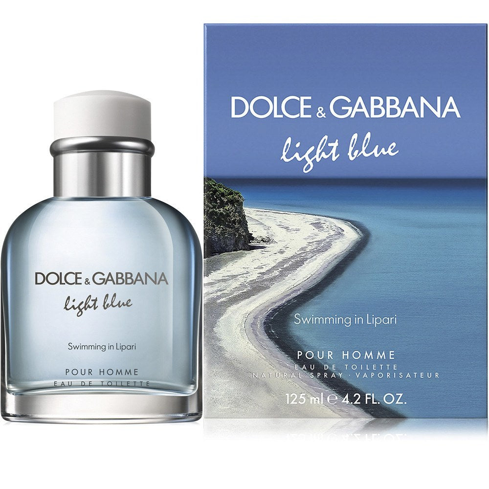 MENS FRAGRANCES - Light Blue Swimming In Lipari 4.2 EDT For Men