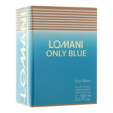 Lomani Only Blue 3.3 oz EDT for men