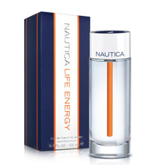 MENS FRAGRANCES - Nautica Life Energy 3.4 Oz EDT For Men