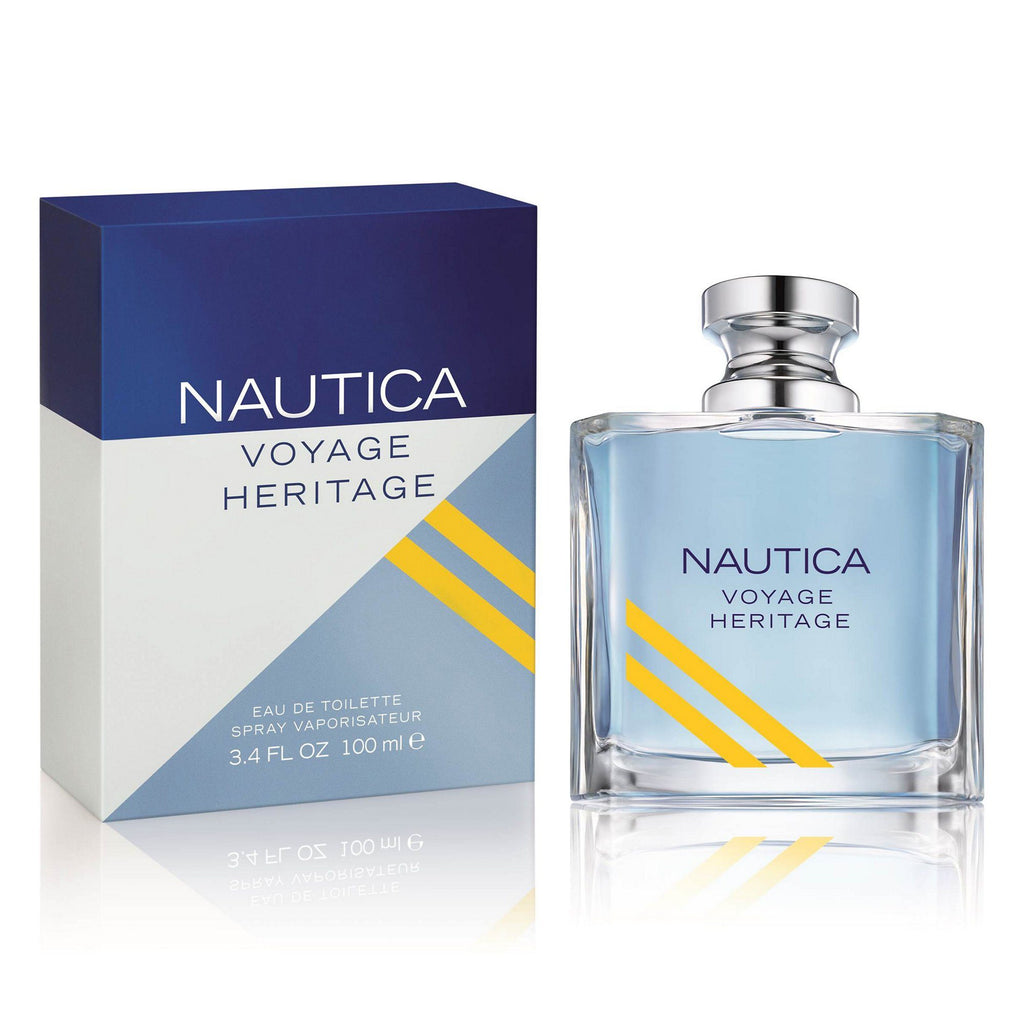 MENS FRAGRANCES - Nautica Voyage Heritage 3.4 Oz EDT For Men