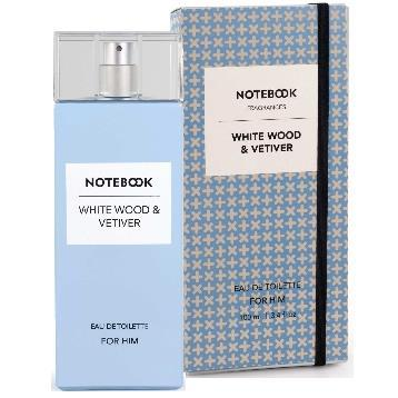 MENS FRAGRANCES - Notebook White Wood Wood And Vetiver 3.4 Oz EDT For Men