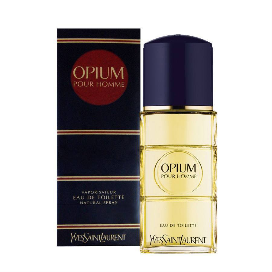 MENS FRAGRANCES - Opium 3.3 Oz EDT By Yves Saint Laurent For Men