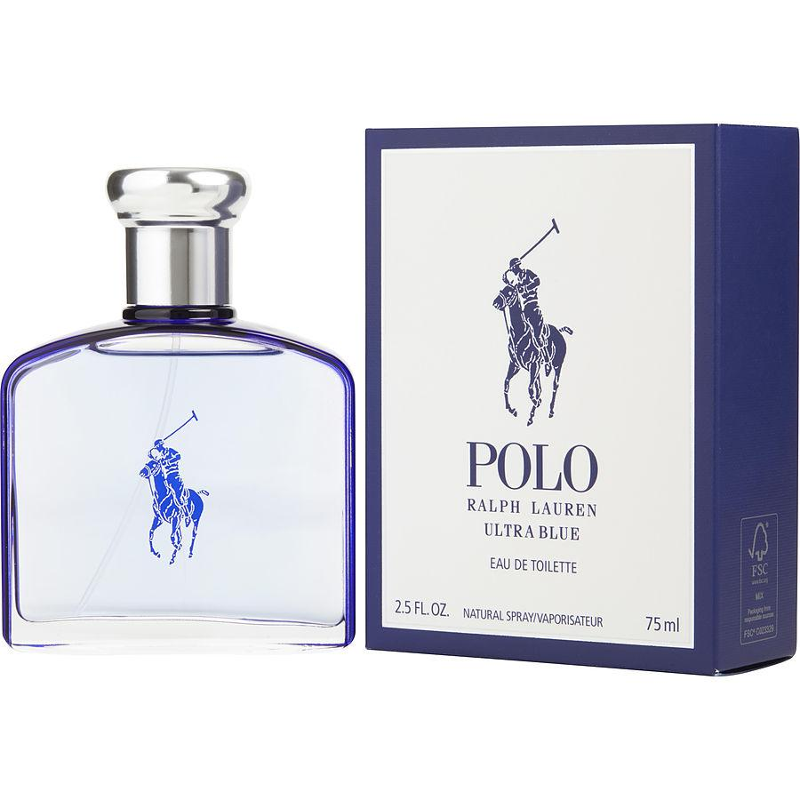 MENS FRAGRANCES - Polo Blue Ultra Blue 2.5 Oz EDT For Men