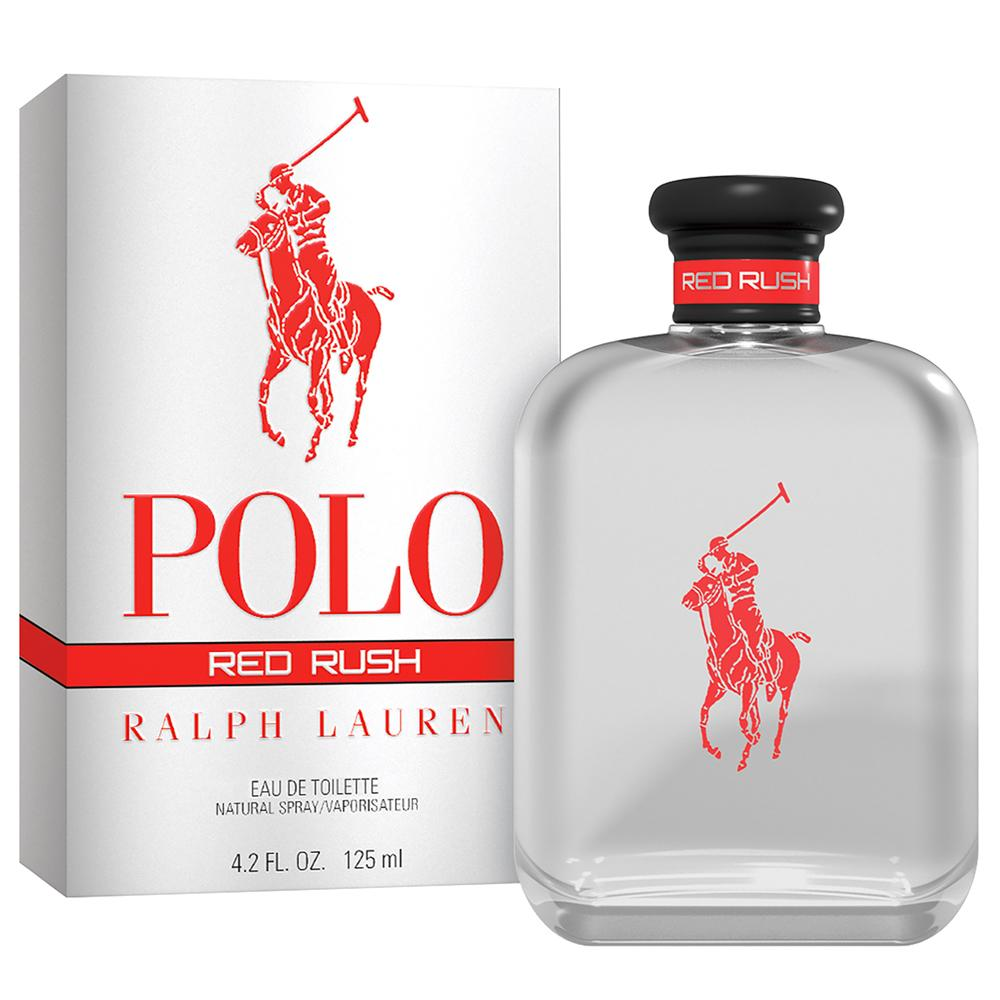 MENS FRAGRANCES - Polo Red Rush 4.2 Oz EDT For Men