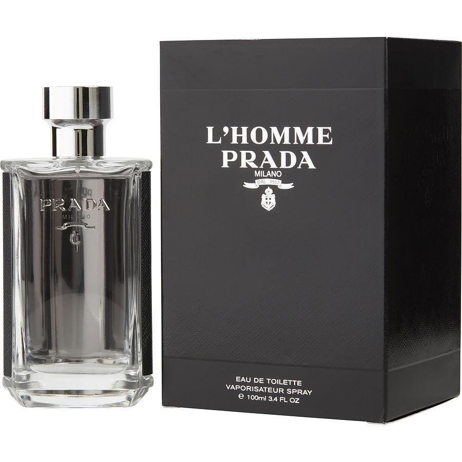 MENS FRAGRANCES - Prada L'Homme 3.4 Oz EDT For Men