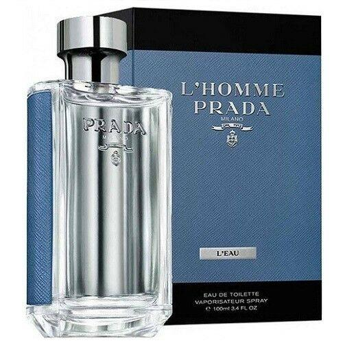 MENS FRAGRANCES - Prada L'Homme L'Eau 3.4 Oz EDT For Men