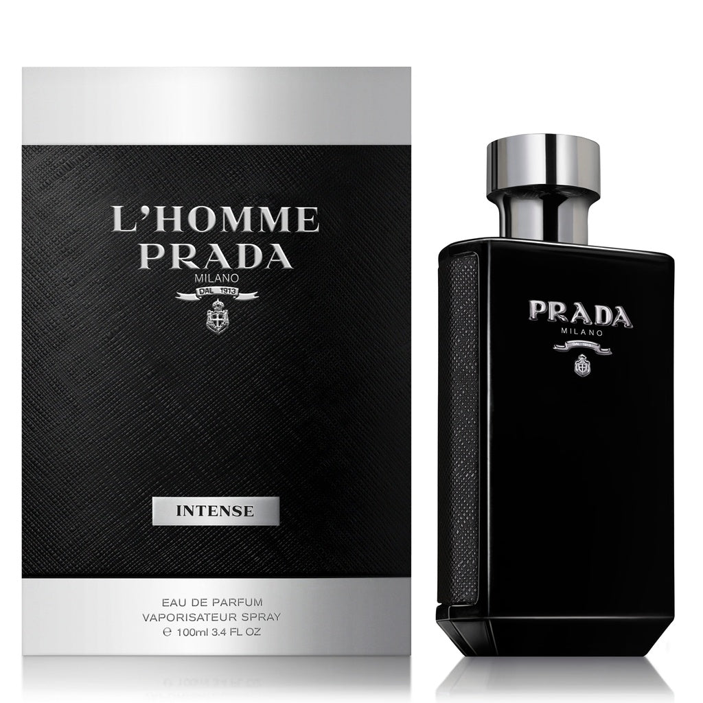 MENS FRAGRANCES - Prada L'Homme Prada Intense 3.4 Oz EDP For Men