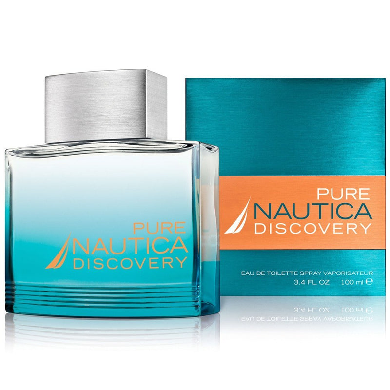 MENS FRAGRANCES - Pure Nautica Discovery 3.4 Oz EDT For Men
