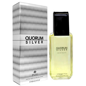 MENS FRAGRANCES - Quorum Silver 3.4 Oz EDT For Men