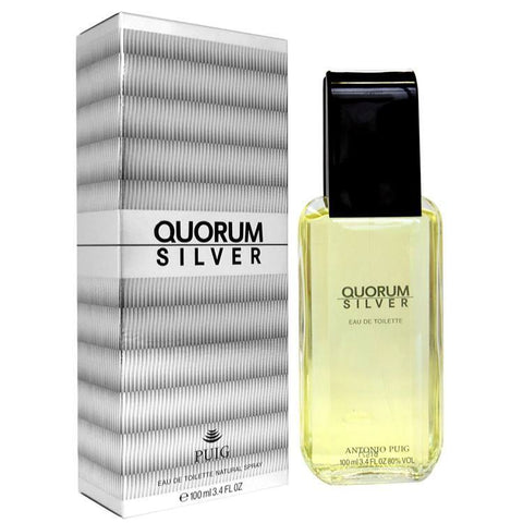 Quorum Silver 3.4 oz EDT for men