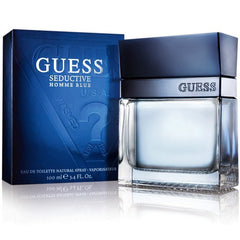 MENS FRAGRANCES - Seductive Blue 3.4 Oz EDT For Men