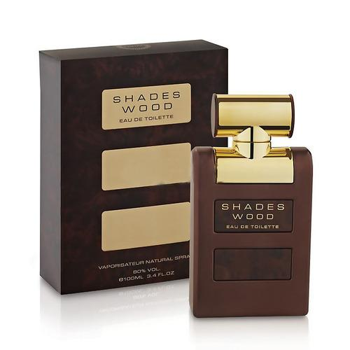 MENS FRAGRANCES - Shades Wood 3.4 Oz EDT For Men
