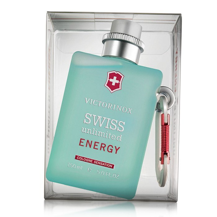 MENS FRAGRANCES - Swiss Unlimited Energy 5.0 EDT For Men