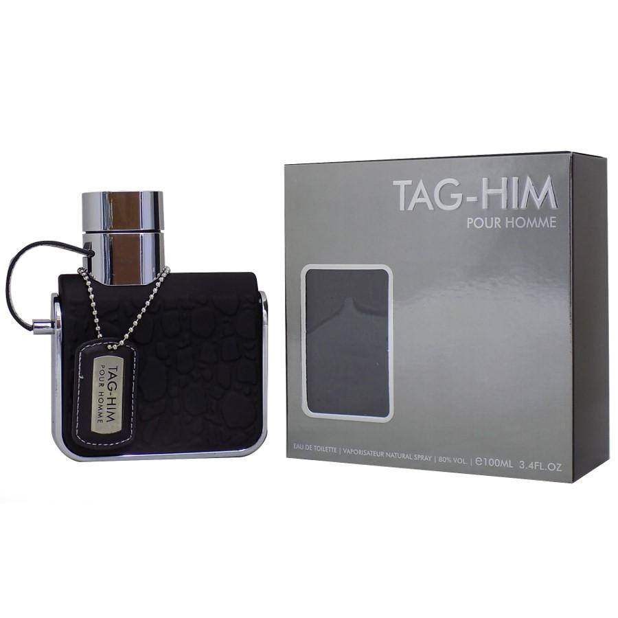 MENS FRAGRANCES - Tag-Him Pour Homme 3.4 Oz EDT For Men