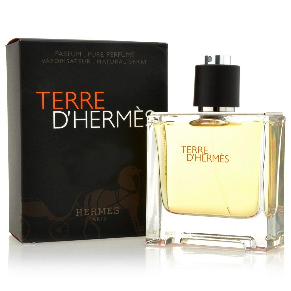 MENS FRAGRANCES - Terre D'Hermes 6.7 Oz Pure Perfume For Men