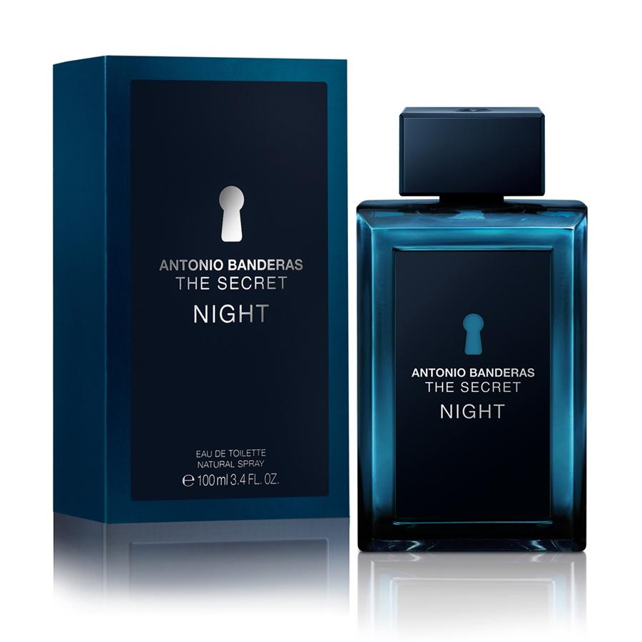 MENS FRAGRANCES - The Secret Night By Antonio Banderas 3.4 Oz EDT For Men